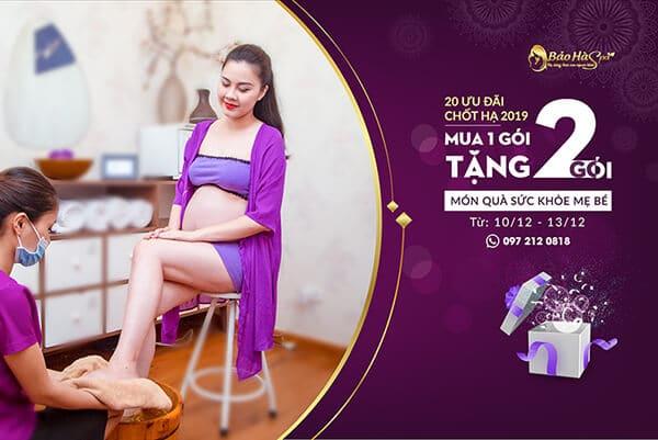 Top 8 spa massage cho bà bầu ở TPHCM tốt nhất bảo hà spa