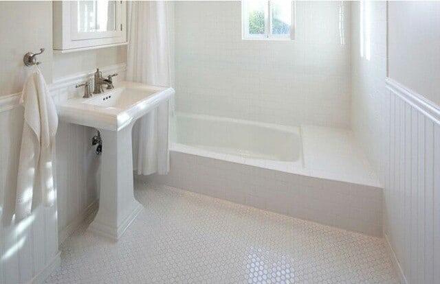 Phòng tắm không theo hình chữ nhật
