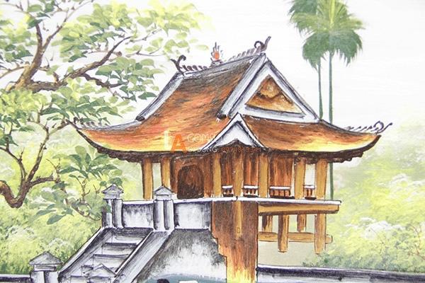 Tranh chùa một cột