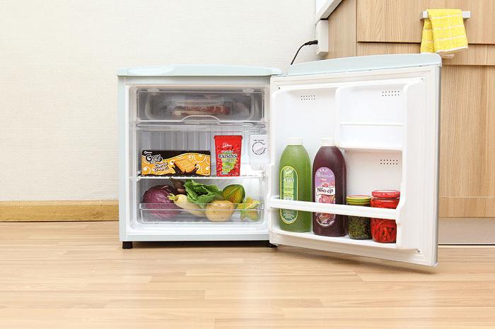 Top 10 tủ lạnh mini giá rẻ tiết kiệm điện đáng mua nhất 2020 LG GN-50L