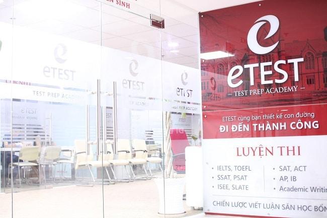 trung tâm luyện thi Ielts quận Tân Phú Etest