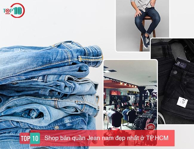 Shop bán quần Jean nam đẹp nhất ở TP.HCM