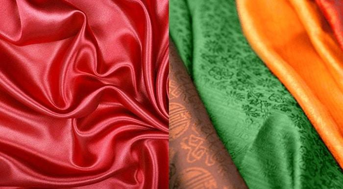 Cách phân biệt các loại vải lụa - Lụa Twill - Top10tphcm