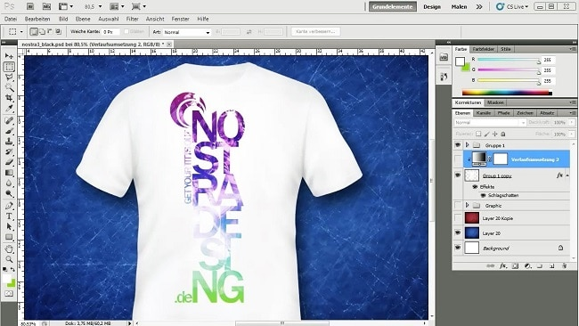 Thiết kế áo thun Online Adobe Photoshop
