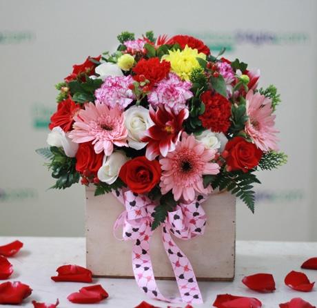 Món quà ý nghĩa tặng mẹ chồng - Hoa tươi