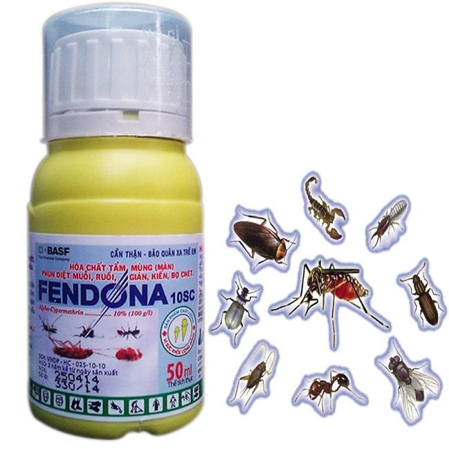 Thuốc diệt muỗi Fendona có tốt không
