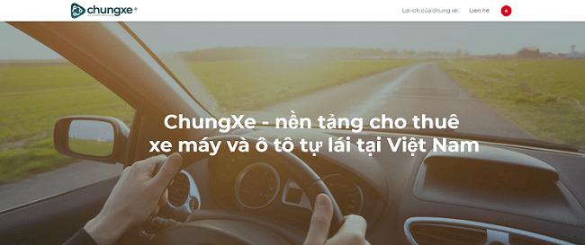 thuê xe tự lái Chungxe.vn