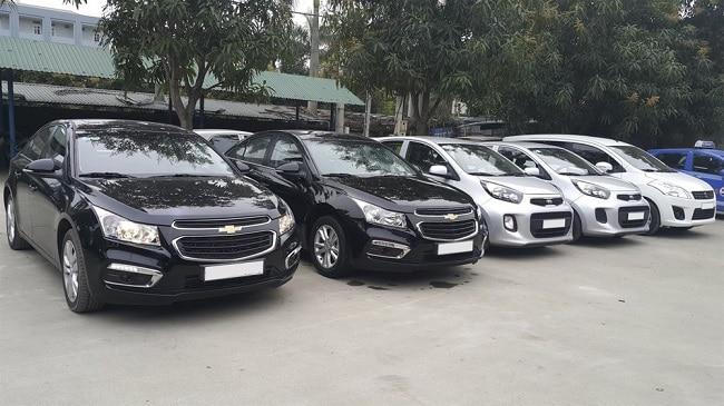 thuê xe tự lái Công ty TNHH Đầu tư vận tải Trung Tín
