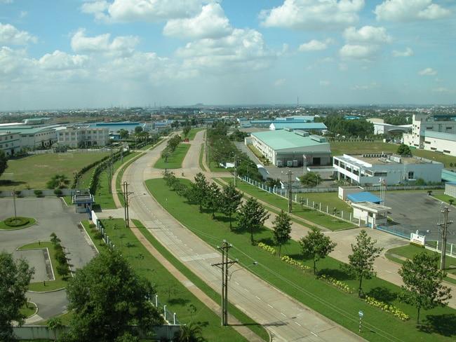 Khu công nghiệp TPHCM - Đông Nam