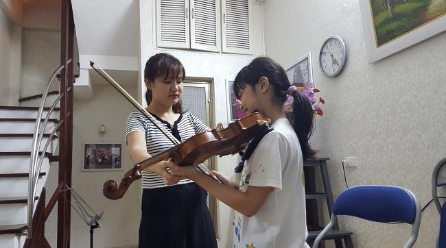 Trung tâm dạy Violin gia sư tài năng trẻ