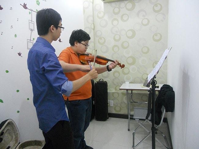 Trung tâm dạy Violin - Trường Âm Nhạc Việt Thanh