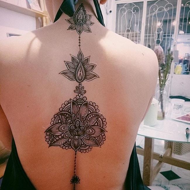 vẽ henna ở đâu đẹp tphcm