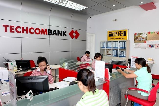 Western Union ngân hàng Techcombank