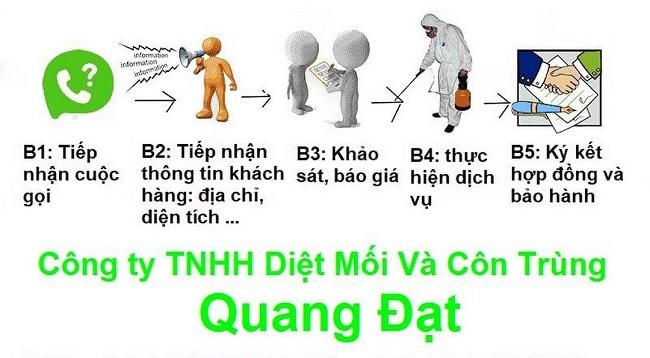 Diệt mối quận 8 công ty Quang Đạt