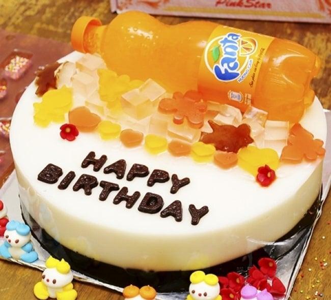 Bánh kem sinh nhật rau câu Hồng Ân Bakery