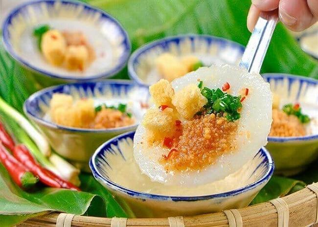 Quán ăn ngon bánh bèo quán Ba Huy