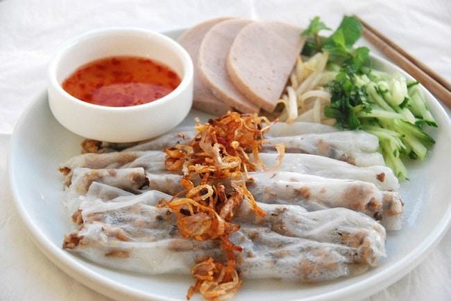Quán ăn ngon Gò Vấp bánh cuốn Thanh Yến