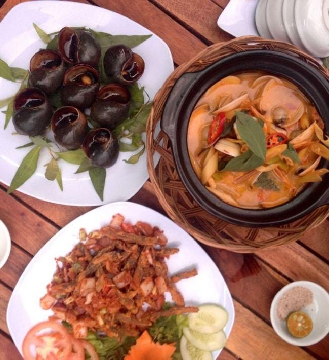 Quán ăn ngon tân phú Quán Ốc Nhớ Sài Gòn