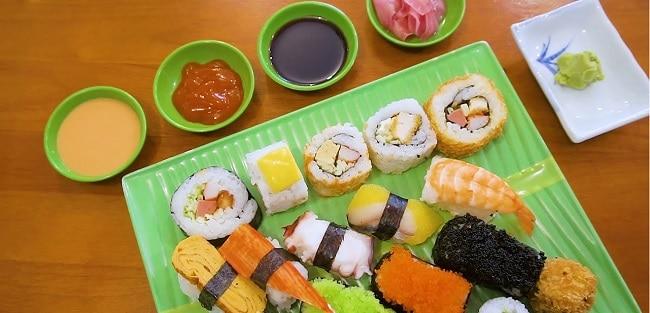Quán ăn ngon Quận 4 Quán Sushi Viên Phương Mập