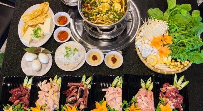 Quán ăn ngon thủ đức Lẩu dê đồng hương
