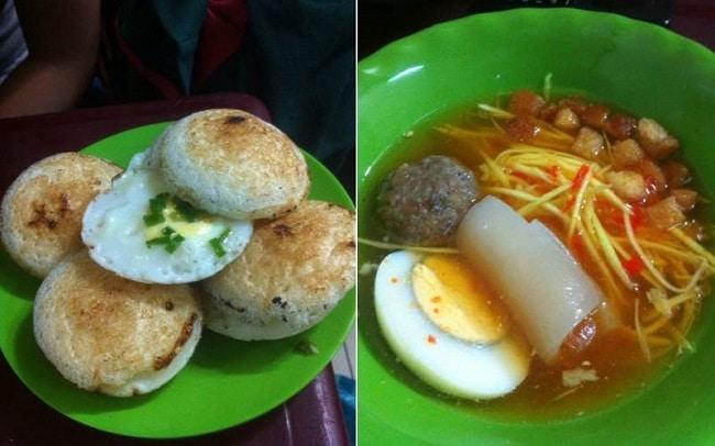 Quán ăn ngon tân bình Bánh căn Phan Thiết