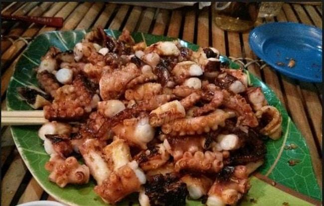 Quán ăn ngon tân bình Quán Đảo Bạch Tuột