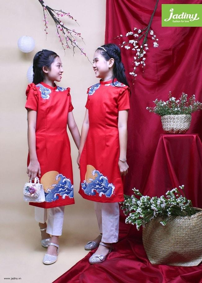 Shop áo dài trẻ em - Jadiny
