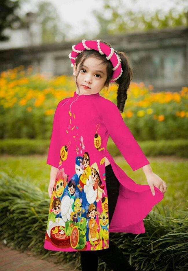 Shop áo dà trẻ em Siu Siu