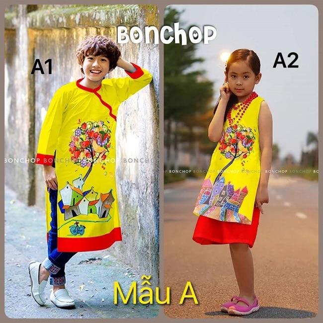 Shop áo dài trẻ em Bon Chop Baby Shop