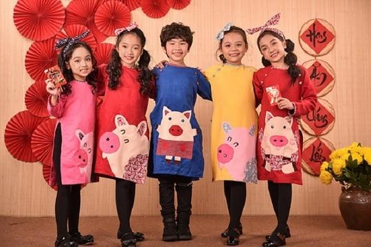 Top Shop áo dài trẻ em đẹp nhất tphcm