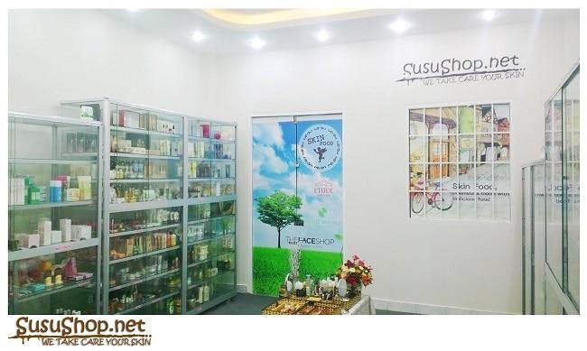 Shop mỹ phẩm xách tay Hàn Quốc Susu
