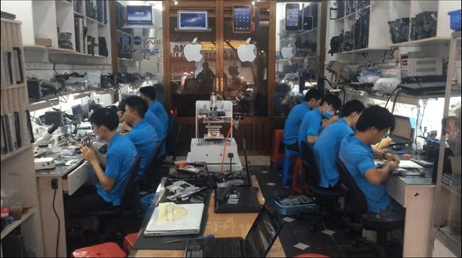 Sửa chữa laptop Hoàng Vũ Center