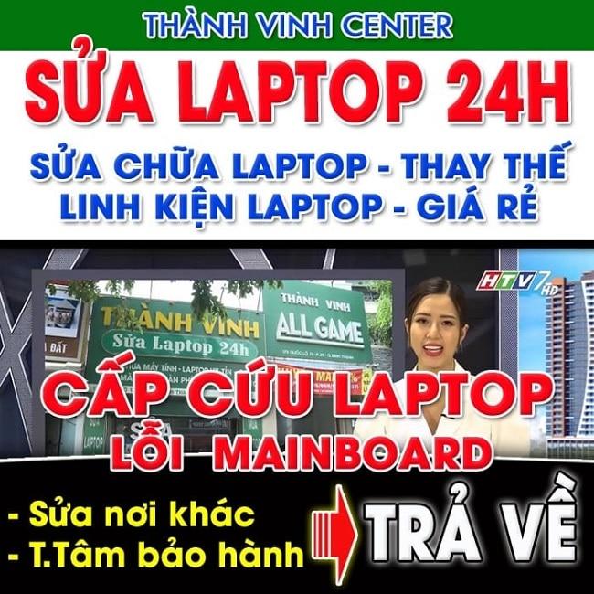 Sửa chữa laptop Thành vinh center
