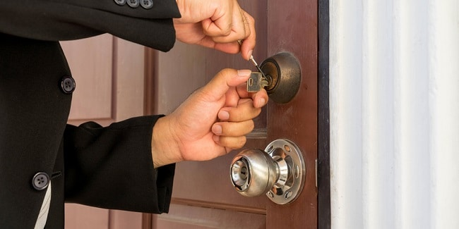 Sửa khóa tại nhà Hồng Long