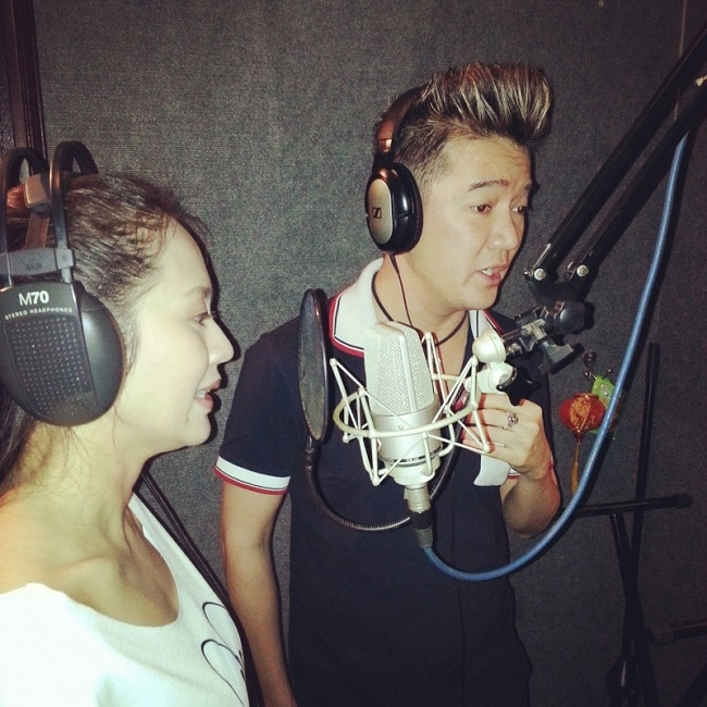 Phòng thu âm Lam Quân