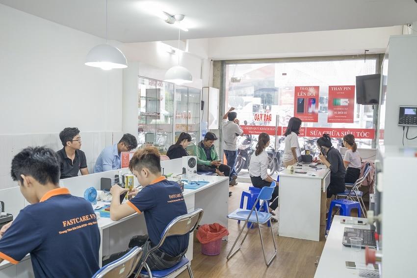 Trung tâm sửa chữa điện thoại Samsung Fastcare