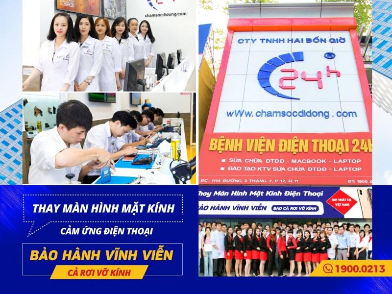 Trung tâm sửa chữa điện thoại Samsung bệnh viện điện thoại 24h