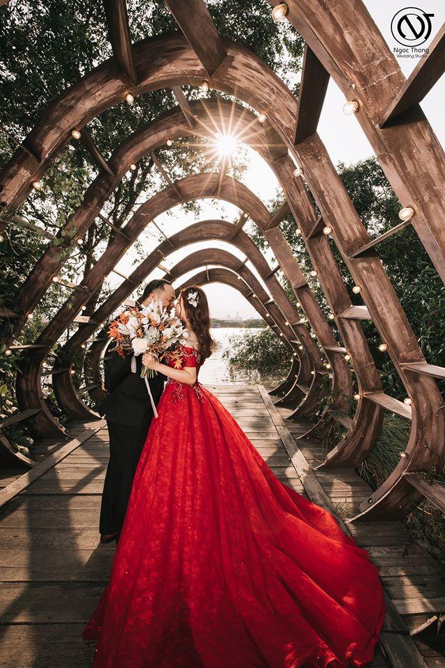 studio chụp ảnh cưới đẹp Thuận An Ngọc Thông