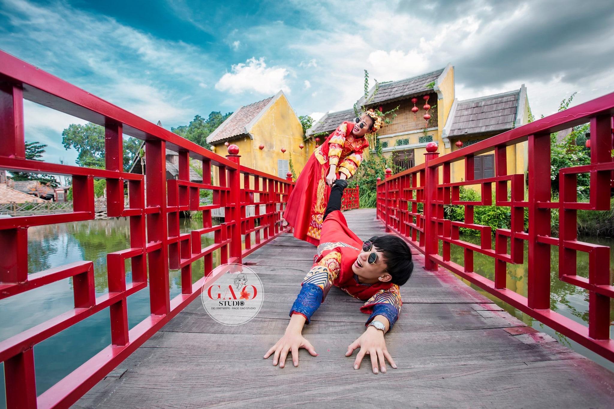 studio chụp ảnh cưới đẹp Thuận An Gạo Studio