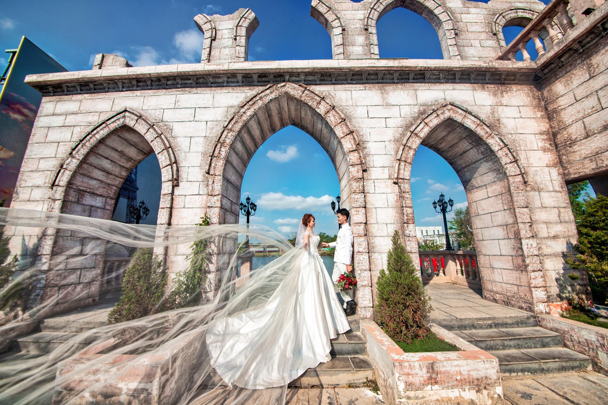 studio chụp ảnh cưới đẹp Thuận An Ti Na Wedding