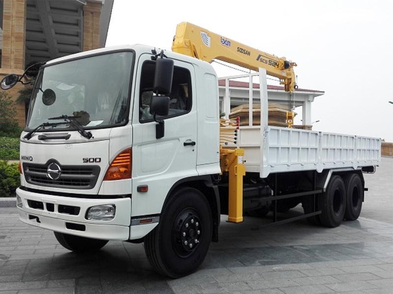 Dịch vụ thuê xe cẩu Minh Hòa