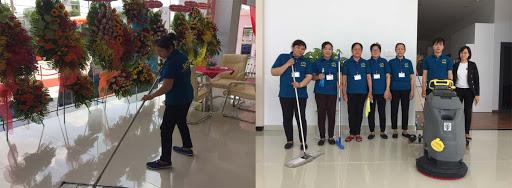Dịch vụ vệ sinh văn phòng sun city