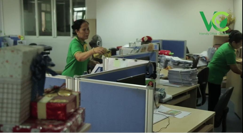 Dịch vụ vệ sinh văn phòng Viet clean