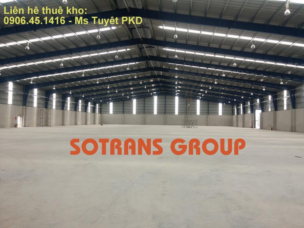 thuê kho bãi hàng hóa tphcm Sotrans