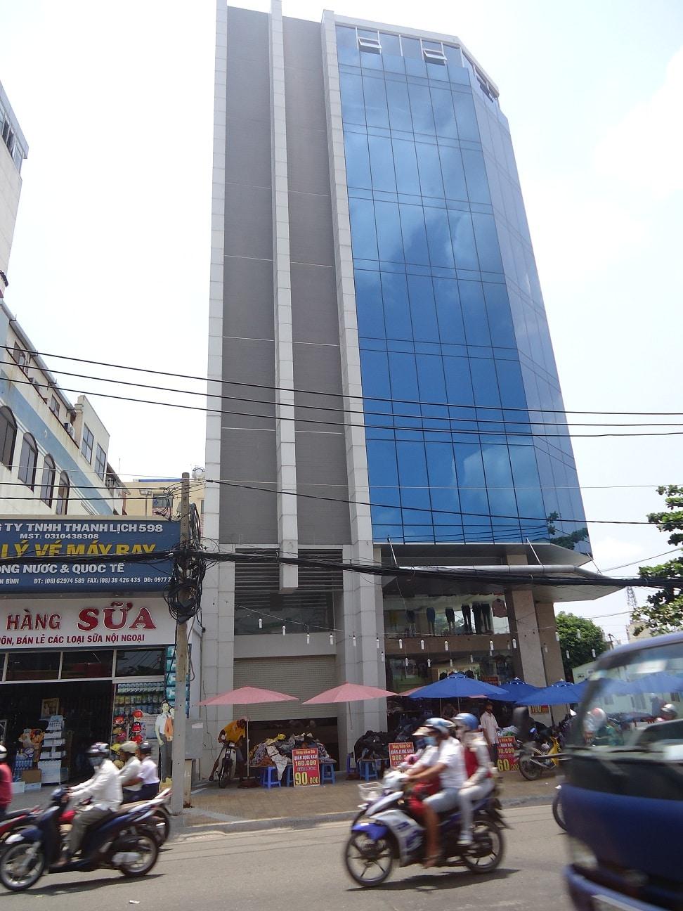 văn phòng cho thuê Tân Bình The Office Building