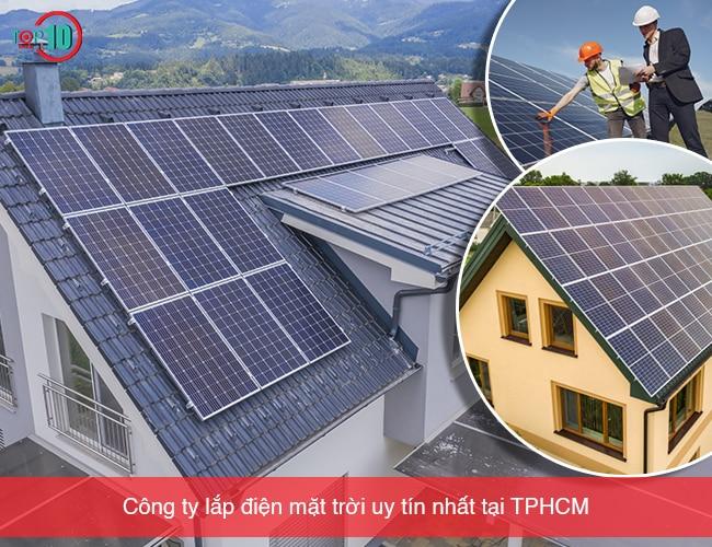 Công ty lắp điện mặt trời tại TPHCM