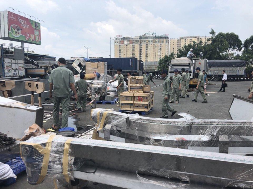 Chuyển dọn kho bãi Đồng Nai - Liên Minh Sài Gòn