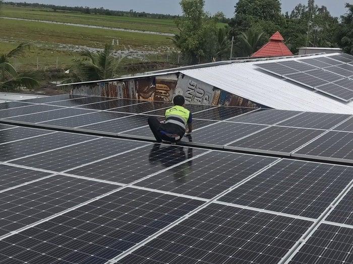 Công ty lắp điện mặt trời lithaco