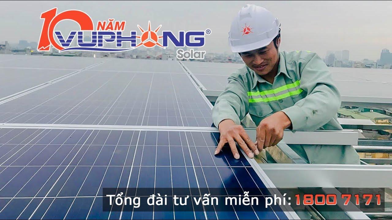 Công ty lắp đặt điện mặt trời Vũ Phong