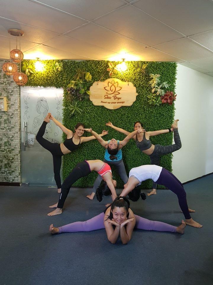 Địa chỉ học Yoga quận 10 - Shine Yoga
